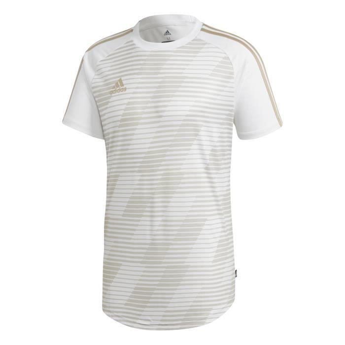 ADIDAS Maillot de football Tango Gra 18 - Homme - Blanc