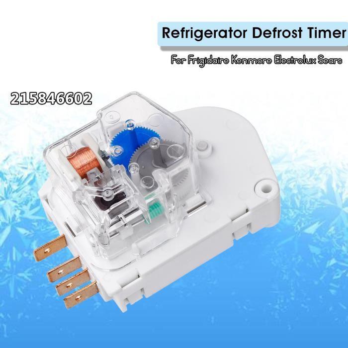 T4W Minuteur Dégivrage du Réfrigérateur 215846602 Pour Frigidaire Kenmore Electrolux Sears