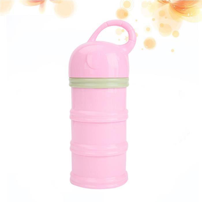 3 couches bébé lait en poudre distributeur formel alimentation pour voyage stockage TASSE A BEC - GOBELET - VERRE D'APPRENTISSAGE