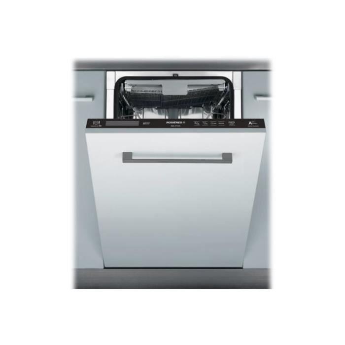 Rosières RDI2T1145 Lave-vaisselle intégrable Niche largeur : 45 cm profondeur : 57 cm hauteur : 82 cm