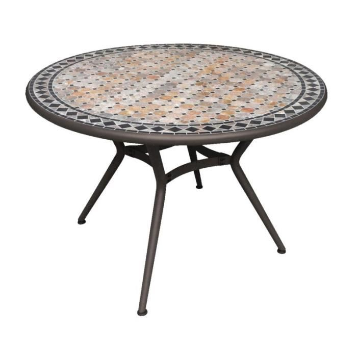 TABLE RONDE 110CM MARBRE - Achat / Vente ustensile TABLE RONDE ...