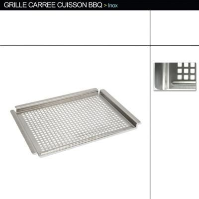 grille de cuisson pour barbecue inox 45 5 x achat. Black Bedroom Furniture Sets. Home Design Ideas