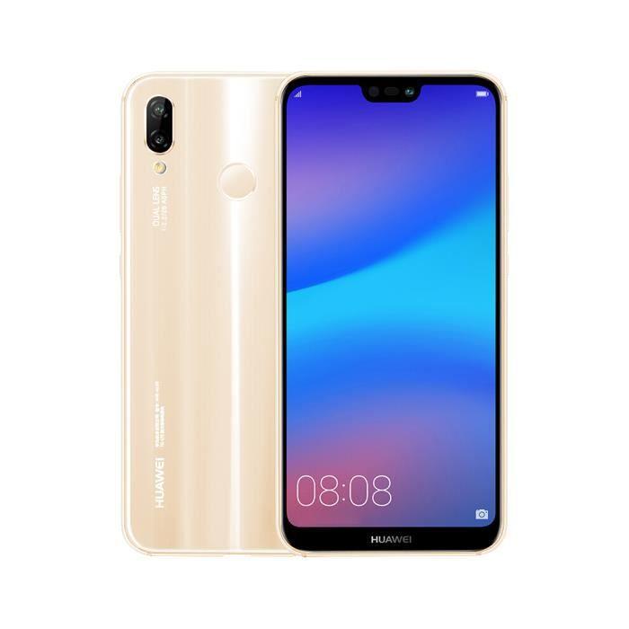 SMARTPHONE Huawei P20 Lite Nova 3e 4+64Go(Or) Smartphone
