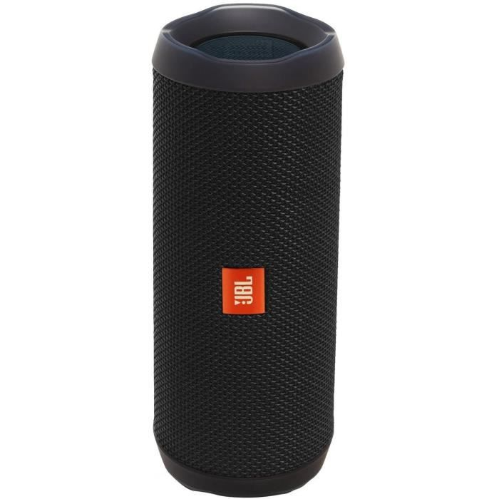 enceinte bluetooth portable jbl flip 4 noir enceinte nomade avis et prix pas cher cdiscount. Black Bedroom Furniture Sets. Home Design Ideas