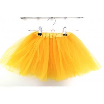 Jupe Tulle Modele Jaune 0 8 Ans Achat Vente Jupe Cdiscount