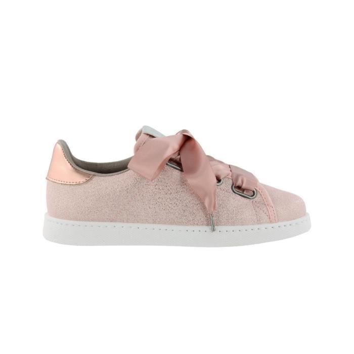 Chaussures Deportivo Lurex Heart Rosa W e18 - Victoria