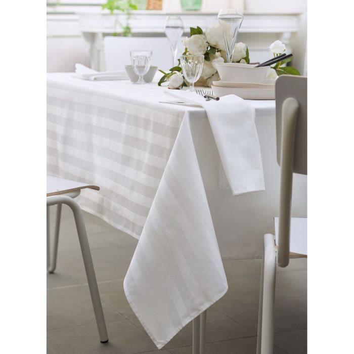 damassées satin table coton Serviette rayures Budapest de de WHe9bD2YEI