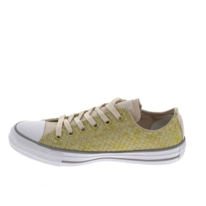 Basket -mode - Sneakers CONVERSE All Star B Beige Rosé