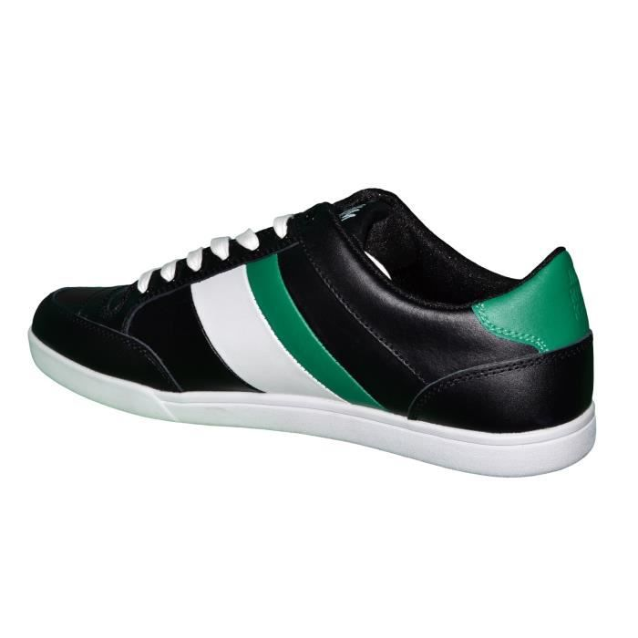 Jim Rickey - Basket - Homme - Carve Lo Jr10102 - Noir Vert Blanc