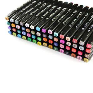 MARQUEUR Marqueur 80 couleurs stylo TOUCH FIVE en forme gén