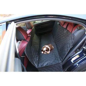 respirant Mothcattl Tapis de voiture pour animal domestique imperm/éable coussin de protection pour si/ège de voiture pour animal domestique normal noir