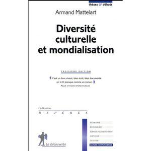 LIVRE SOCIOLOGIE Livre - diversité culturelle et mondialisation (3e