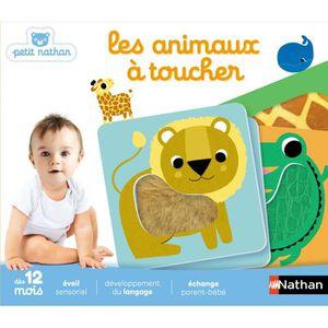 JEU D'APPRENTISSAGE PETIT NATHAN - Les Animaux à Toucher