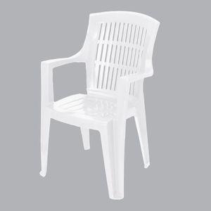 Fauteuil de jardin Arpa Blanc - Achat / Vente fauteuil ...