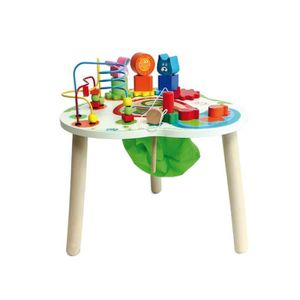 table activite bois achat vente jeux et jouets pas chers. Black Bedroom Furniture Sets. Home Design Ideas