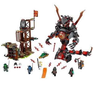 ASSEMBLAGE CONSTRUCTION LEGO Ninjago Dawn Of Doom Fer 70626 Enfants Jouet