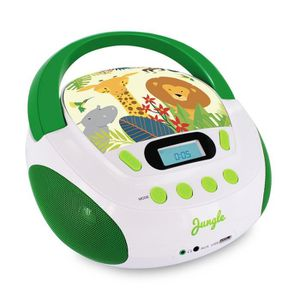 RADIO CD ENFANT METRONIC 477144 Radio lecteur CD enfant style Jung