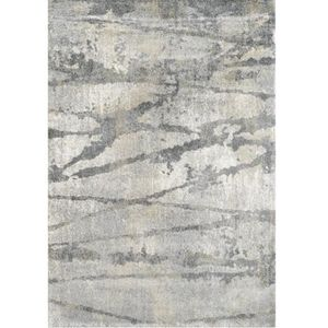 TAPIS Tapis de salon à lignes gris 160x230 - Collection