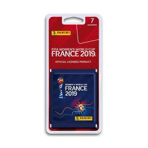 CARTE A COLLECTIONNER FIFA WOMEN'S WORLD CUP 2019 Blister 7 pochettes