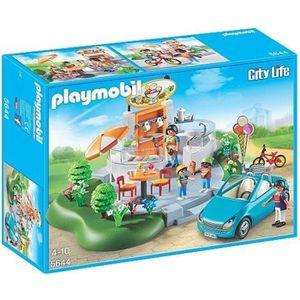 UNIVERS MINIATURE Playmobil - Le salon de thé et glacier - 5644