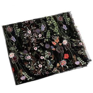 TISSU 1Pcs 90*130cm Tissu broderie dentelle fleur pr che