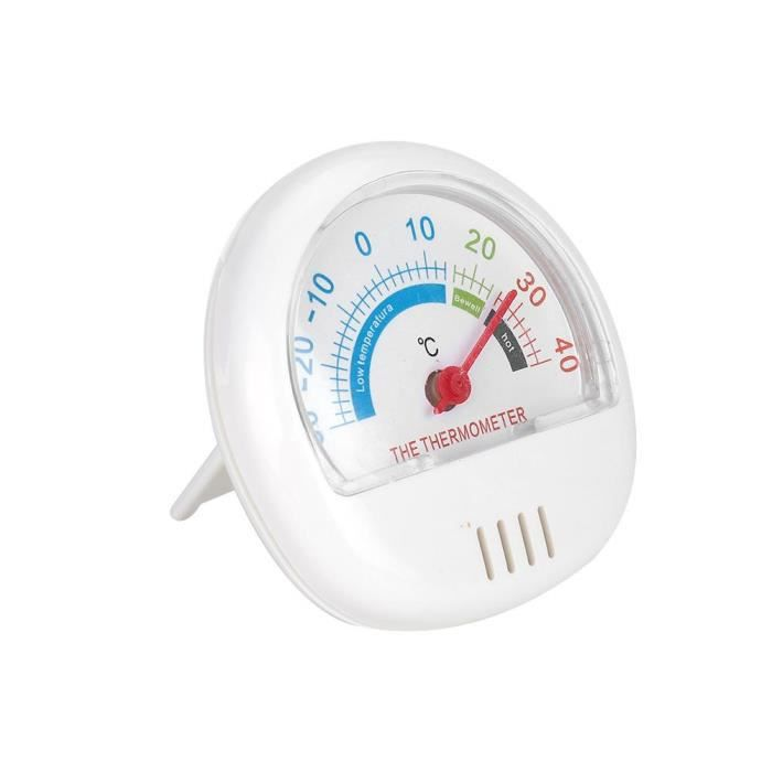 Thermomètre pour congélateur ABS blanc -DUO