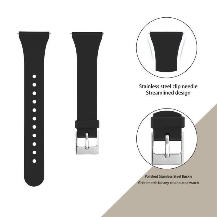 bracelet de montre vendu seul Bande de poignet respirante en silicone de remplacement pour le bracelet Fitbit Versa 2