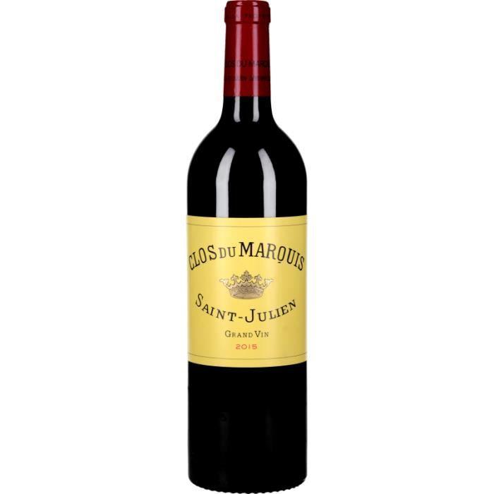 Vin Rouge - Clos du Marquis 2015 - Bouteille 75cl