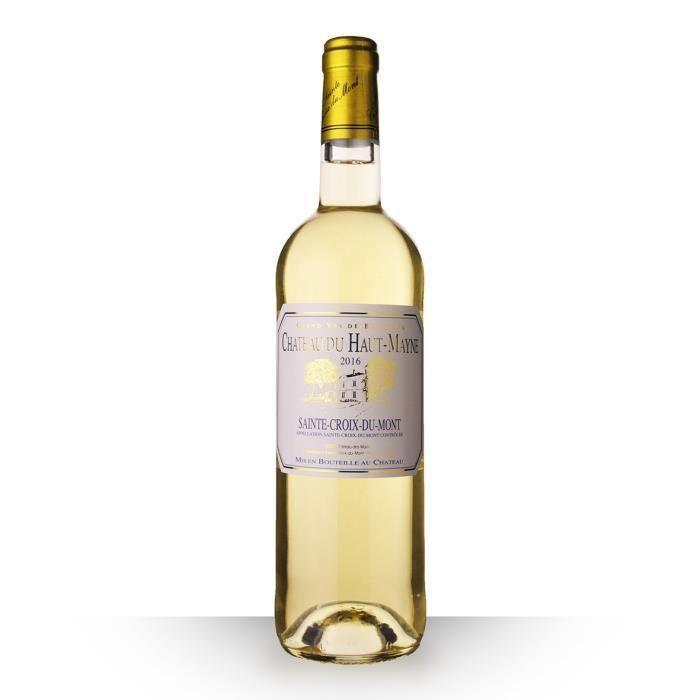 Château du Haut-Mayne 2016 Blanc 75cl AOC Sainte-Croix-du-Mont - Vin Blanc
