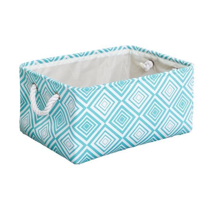 Portable rectangulaire tissu placard paniers de rangement enfant jouets organisateur armoire étagère pour vêtements - Type 4 - S
