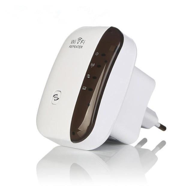 W3622 2.4G sans fil Wi Fi répéteur 300Mbps WiFi Booster WiFi Signal amplificateur Point d'accès 802.11N longue portée Repiter