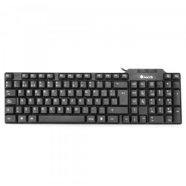 NGS Clavier - Funky USB Pc Noir