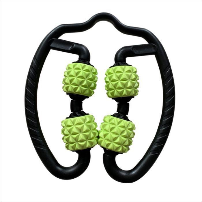 C5N Rouleau de Massage Musculaire 360 ° 3D en Mousse Massage Roller-vert