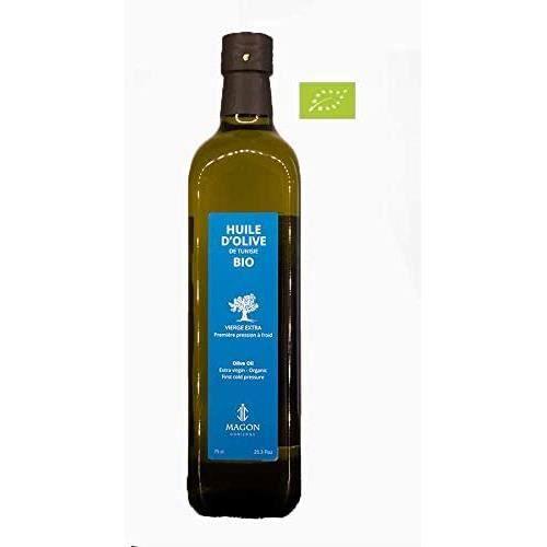 Huile d'olive BIO Vierge Extra Première pression à Froid 75cl