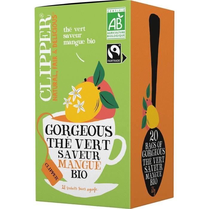 Clipper Thé Vert Mangue 35g