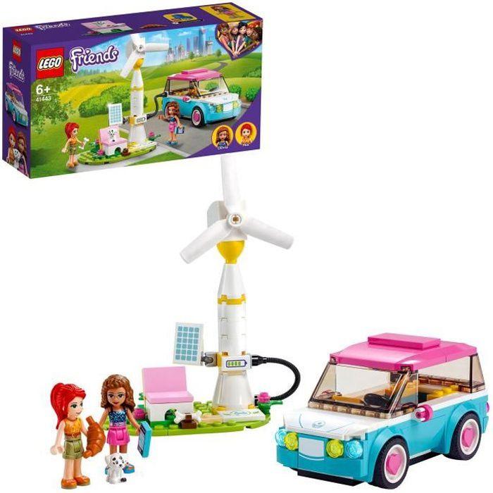 LEGO® Friends 41443 La voiture électrique d'Olivia Jeu de voiture et d'éducation au developpement durable pour les enfants
