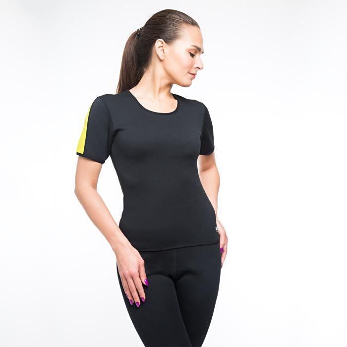 T-shirt de sudation / Haut minceur VeoFit - Transpirer, solidifier et raffermir votre silhouette - Efficace et confortable à 100%