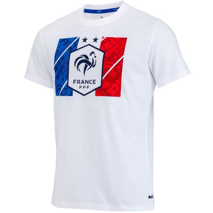 T-shirt FFF - Collection officielle Equipe de France de Football - Taille Homme S