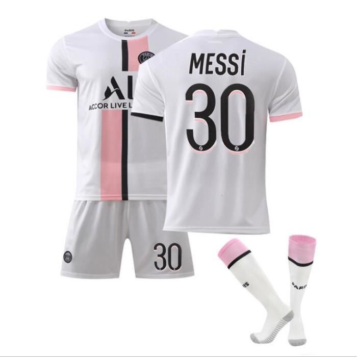 N°30 Maillot Messi Paris Domicile, Maillots Football, VêTements Football, Enfant GarçOn Football Maillot, Equipe Football T-Shirt