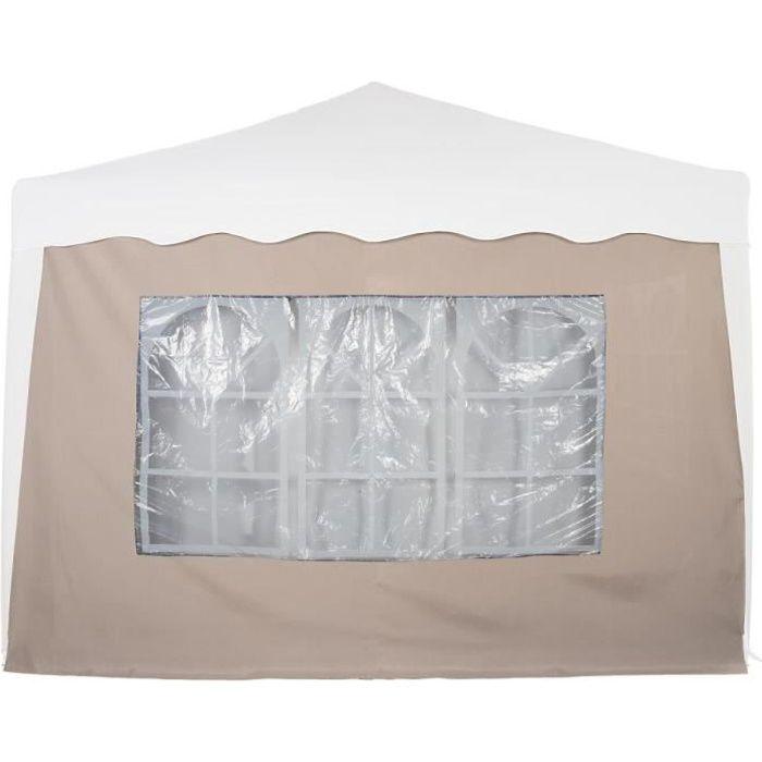 INSTENT® panneau latéral beige > avec 3 fenêtres, sans fermeture à glissière Beige