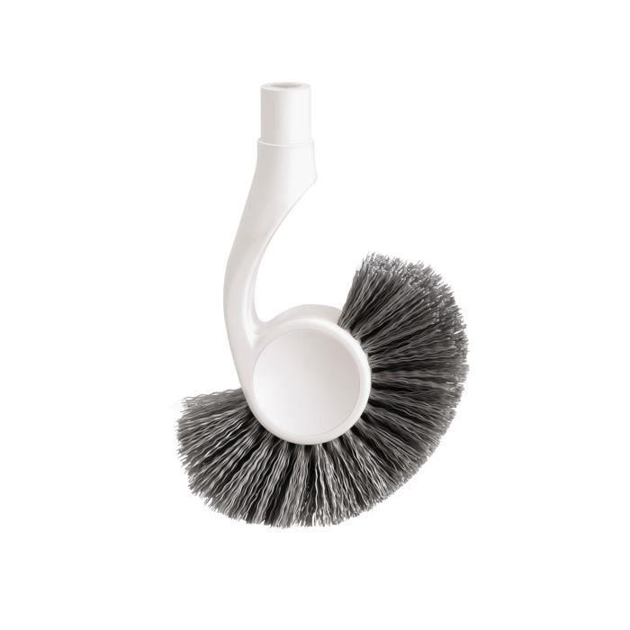 simplehuman tête de la brosse de toilette étroite, blanche