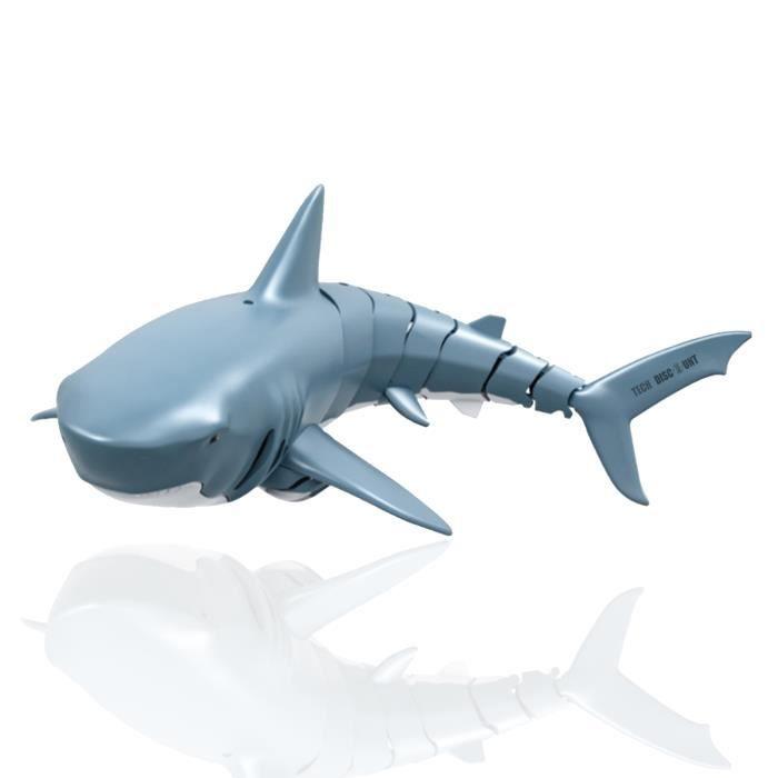 TD® Jouet modèle de requin de plongée télécommandé électrique