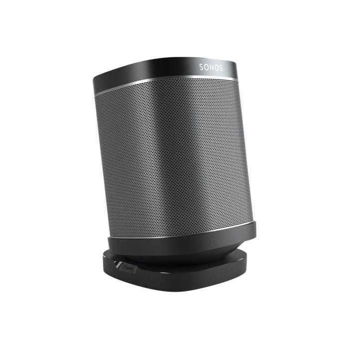Vogel's Sound 4113 Pied pour haut-parleur(s) noir plateau de table pour Sonos One, PLAY:1, PLAY:3