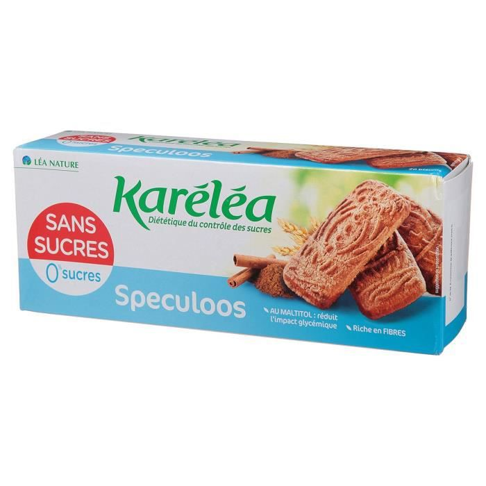 KARELEA Spéculos sans sucre - 250 g