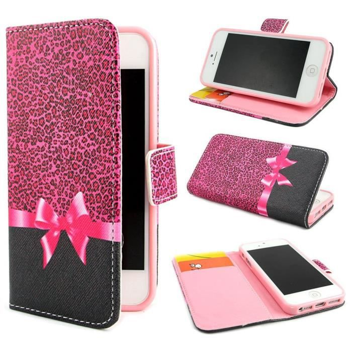coque rabat iphone 4