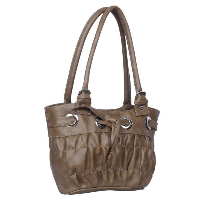 Womens Cnk Partywear & Stylish Knot Style Leather Handbag For - Girls Q9JMC