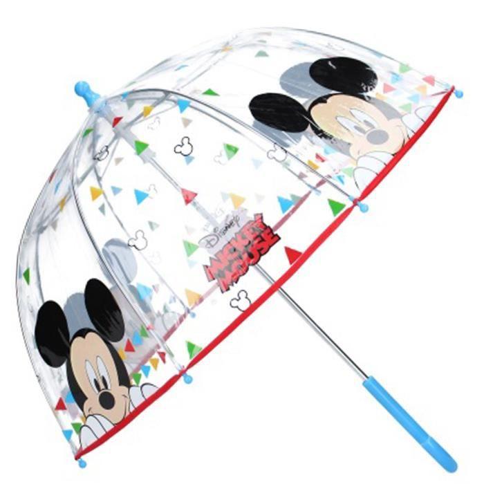 "6... Promo -23/% - Parapluie cloche enfant /""Mickey/"" multicolore Disney Q9744"