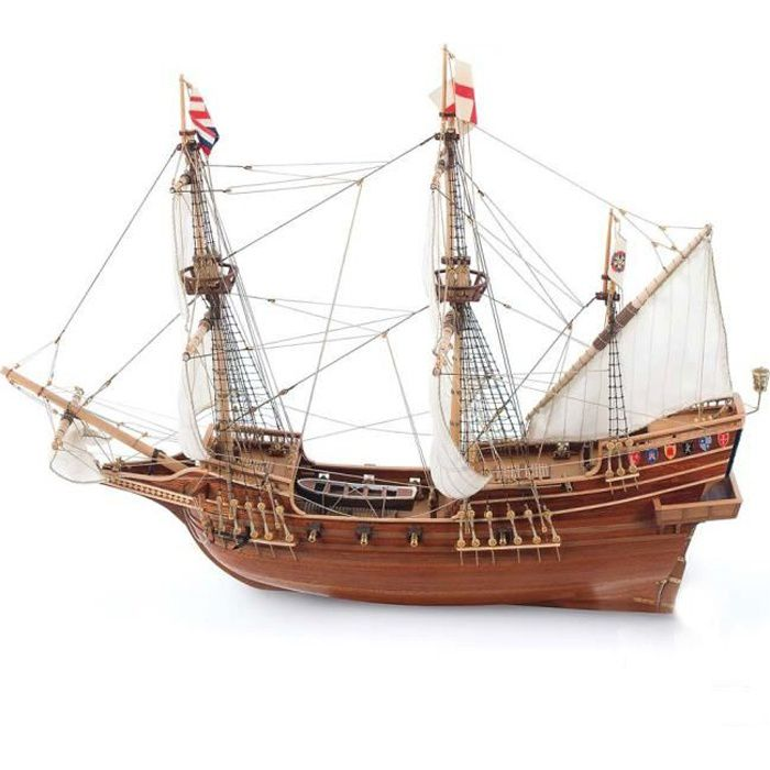maquette bateau en bois golden hind achat vente maquette de bateau cdiscount. Black Bedroom Furniture Sets. Home Design Ideas