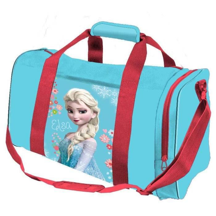 sac de sport elsa reine des neiges ou sac voyage enfants filles frozen disney prix pas cher. Black Bedroom Furniture Sets. Home Design Ideas