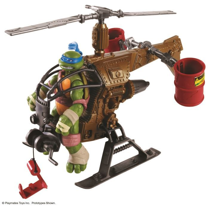 Mutant ninja turtles helicopter dropcopter achat vente voiture enfant cdiscount - Voiture des tortues ninja ...